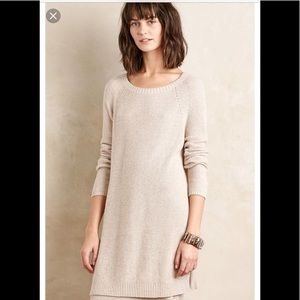 Anthropologie Moth brand tunic sweater size small